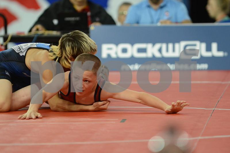 2015 USA Wrestling Cadet Nationals Greco-Roman<br /> 94 - Champ. Round 3 - Jace Koelzer (Kansas) over Conrad Braswell (Iowa) (TF 12-0)