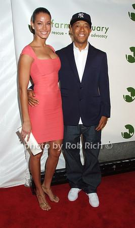 Porschla Coleman, Russell Simmons photo by Rob Rich © 2008 robwayne1@aol.com 516-676-3939