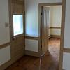 front porch door and family room door