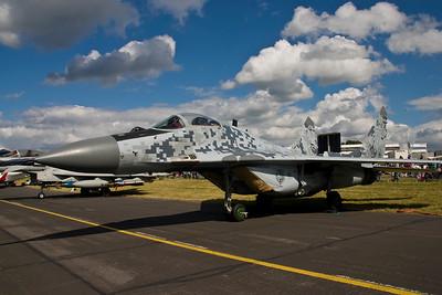 MiG29 - Farnborough Air Show 2008