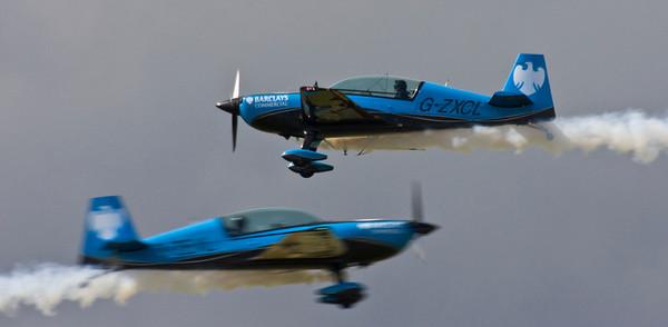 Blades Extra 300 LPS Display Team - Farnborough Air Show 2008
