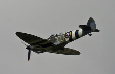 Spitfire IXT - Farnborough Air Show 2008