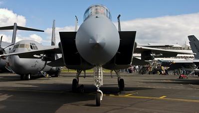 USAF F15C Eagle - Farnborough Air Show 2008