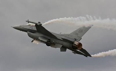Lockeed Martin F-16 Fighting Falcon - Farnborough Air Show 2008