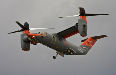 Bell/Augusta BA-609 Tilt Rotor - Farnborough Air Show 2008