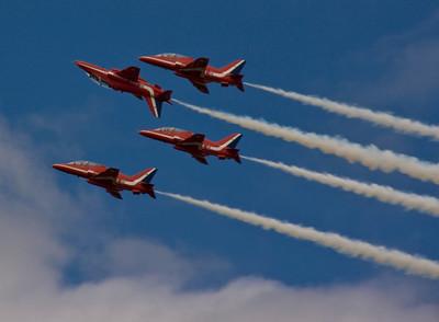 Red Arrows - Farnborough Air Show 2008