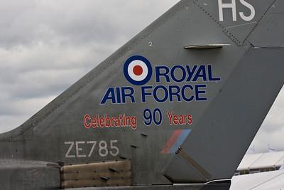 Tornado F Mk3 - Farnborough Air Show 2008