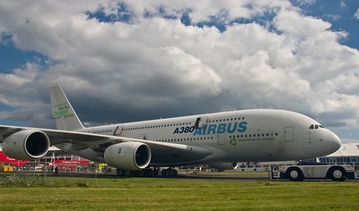 Airbus A-380 - Farnborough Air Show 2008