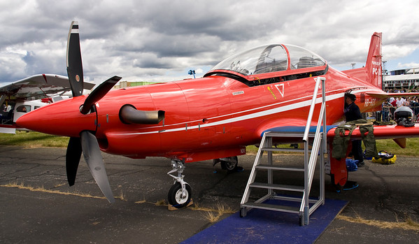PC-21 - Farnborough Air Show 2008