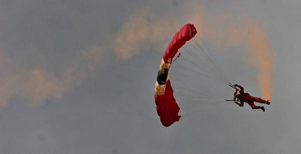 Red Devils - Farnborough Air Show 2008