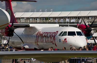 ATR 72-500 - Farnborough Air Show 2008