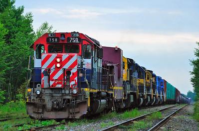 Montreal Maine & Atlantic, Train #2, Farnham Qc