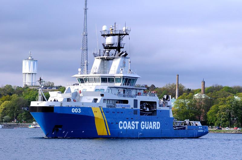 KBV 003 Amfitrite, Kustbevakningen Karlskrona