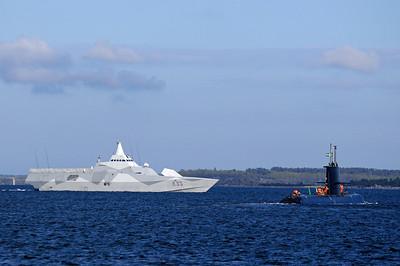 HMS Karlstad (K35), Ubåt