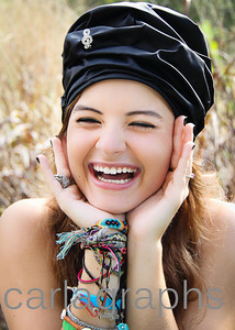 Alison Laughing Black Hat-1