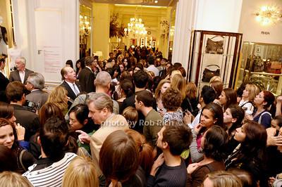 crowds at Bergdorf Goodman   photo  by Rob Rich © 2009 robwayne1@aol.com 516-676-3939