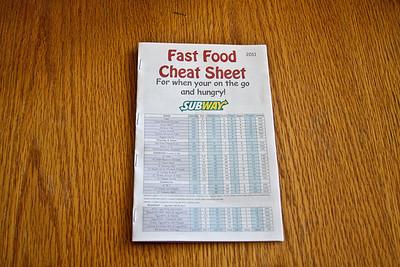 Fast Food Booklet (Older)