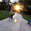 Chatanooga Hike-Bike Trail. October