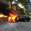 U of M car fire. July