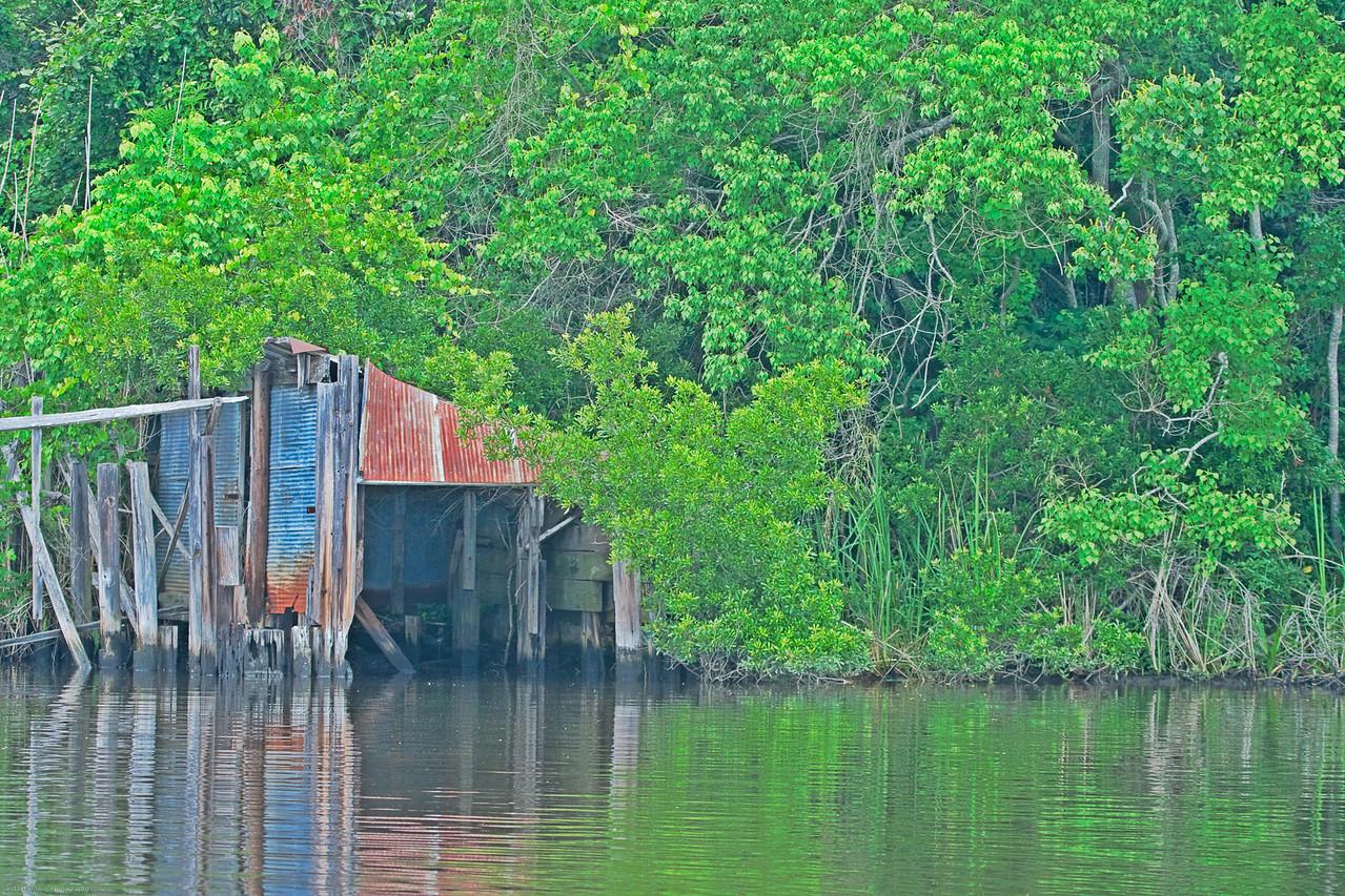 Old Boat House in Niceville, Fl
