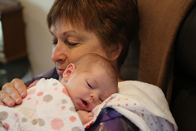 Kathie Badertscher & Grand Daughter, Abigail Gardner