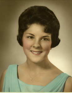 Gail Anderson (Mom) High School Graduation Photo