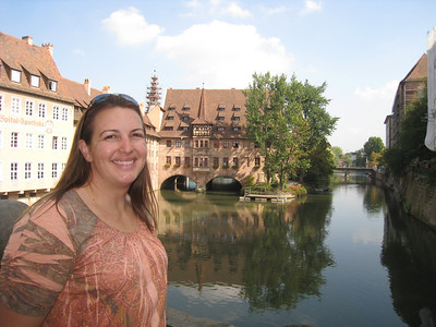 Julie Badertscher (Gardner) in Germany. Wonderful Trip!