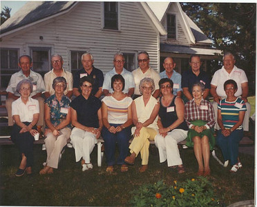 Anderson Family Reunion at the Anderson Homestead, 1982