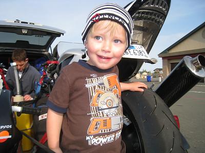 Emrick at Infineon Raceway.