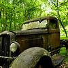 old car at the Roaring Forks Motor trail, Gatlinburg, TN