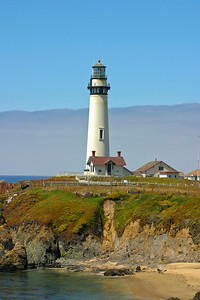 Pigeon Point Light in Pescadero, California. Built in1872