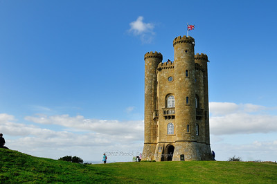 Up close to Broadway Tower