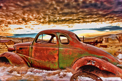 Bodie State Park '37 Chevy-2
