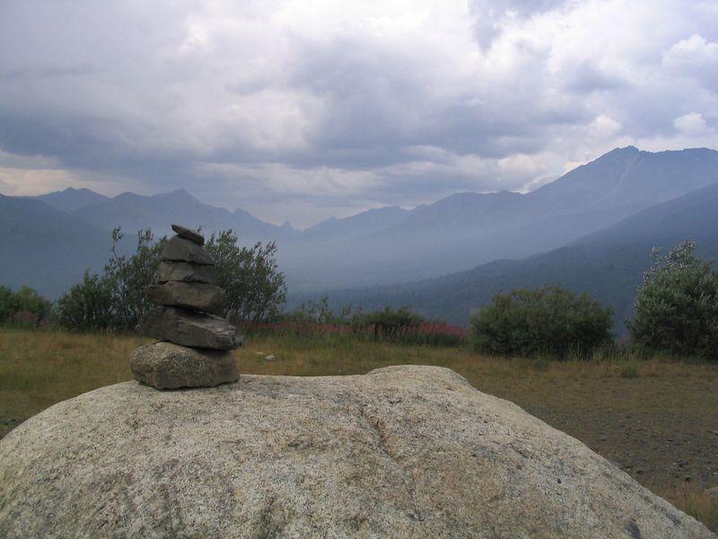 Tombstone Mountain Overlook