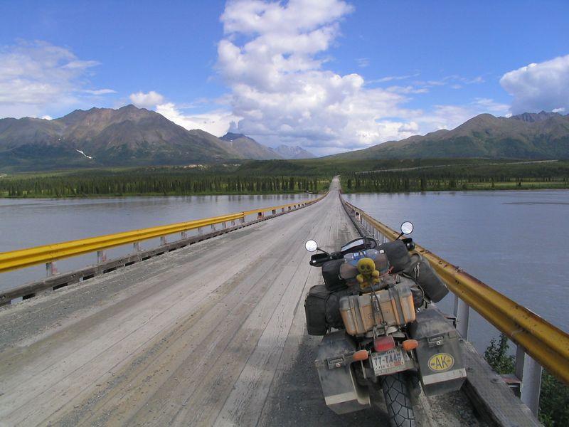 Denali Hwy river crossing