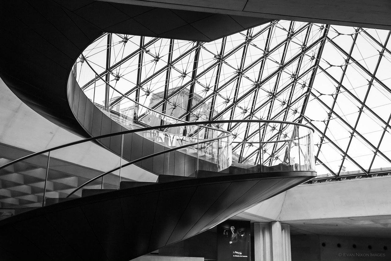 Louvre's Magic Stairs