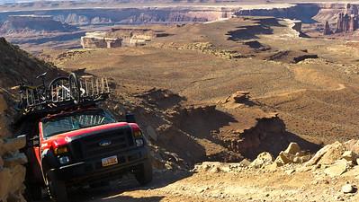 White Rim Trail, Canyonlands National Park, UT