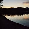 Sunset McDonald Lake, Glacier National Park
