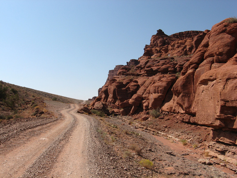 Shafer Canyon Rd.