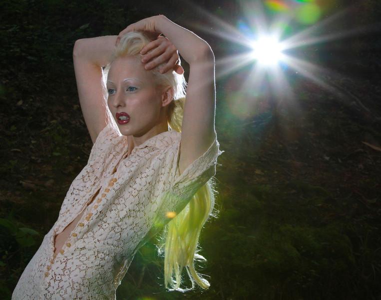 Model Laura New Myers in Atlanta, GA