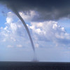 Waterspout off St. George Island