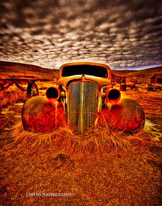 Bodie State Park '37 Chevy-1
