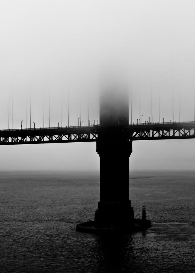 Gate in Fog