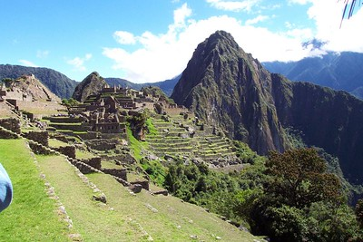 June 2001 Machu Picchu, Peru - This was my first trip to Machu Picchu during the most ideal time to visit, hince the weather was better.