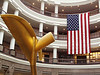 A patriotic scene at the Connecticut Legislative Office building on Febrary 28, 2005.   Is this one your favorite?