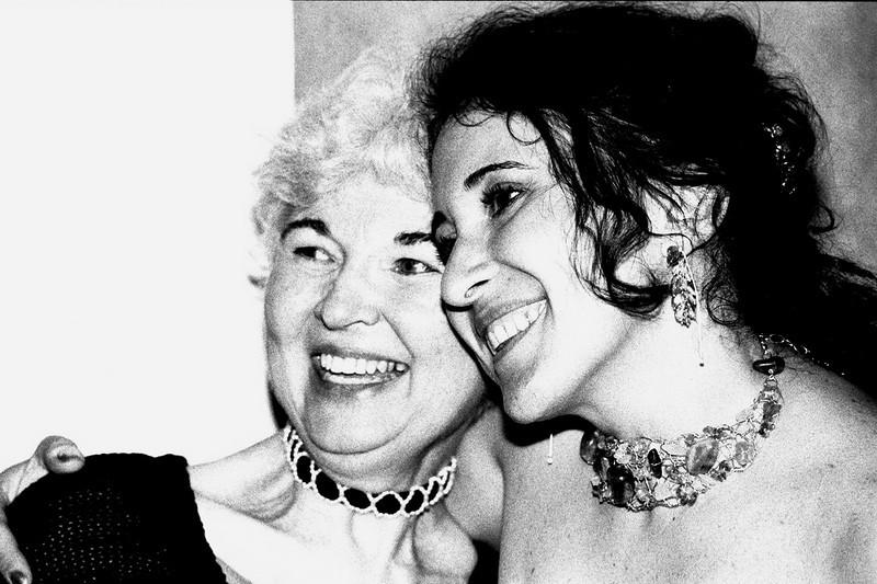 Cissa with Joy Fulton Richardson