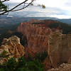 Bryce Canyon scenic drive, rained this morning so colors are exceptionally vivid.