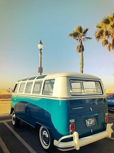 VW at Huntington Beach