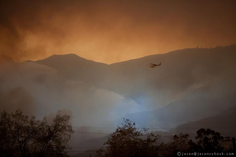 Fire, Santa Barbara
