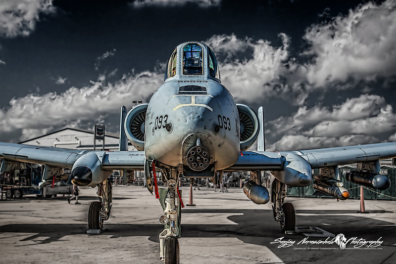 """A-10 Thunderbolt II or """"Warthog"""", Houston Air Show, October 24, 2010"""